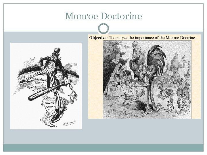 Monroe Doctorine