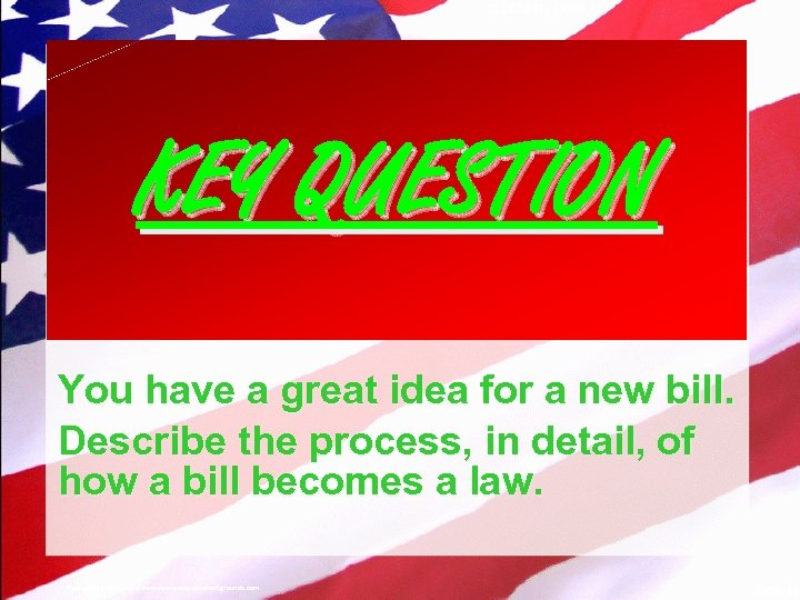 © 2004 By Default! KEY QUESTION You have a great idea for a new