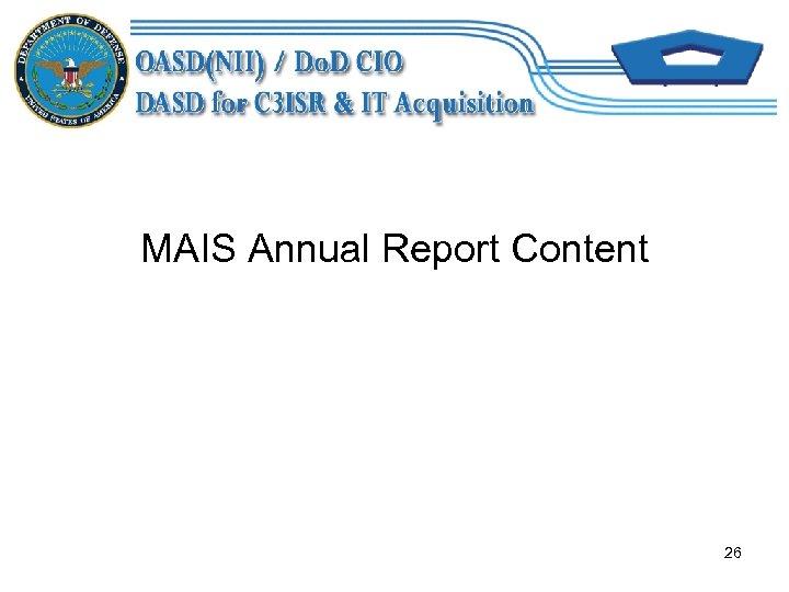 MAIS Annual Report Content 26