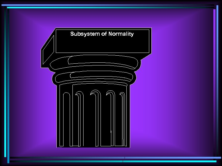 Subsystem of Normality