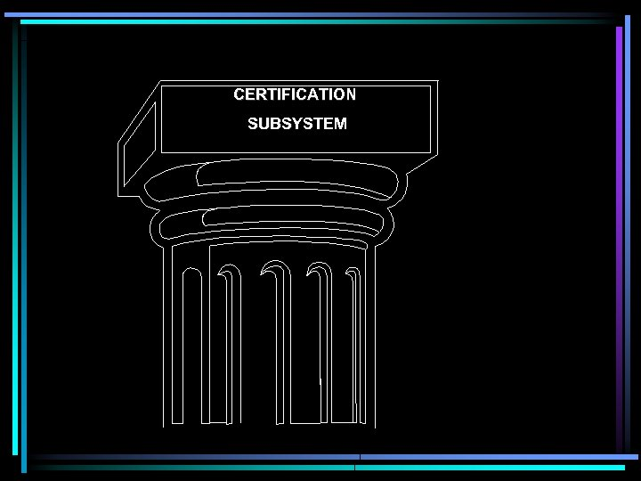 CERTIFICATION SUBSYSTEM