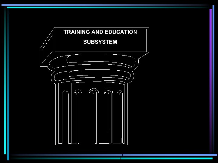 TRAINING AND EDUCATION SUBSYSTEM