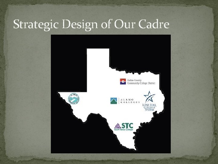 Strategic Design of Our Cadre