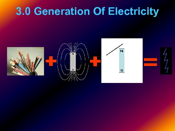 3. 0 Generation Of Electricity