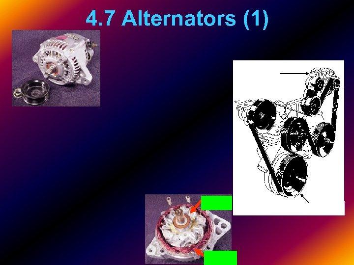 4. 7 Alternators (1)