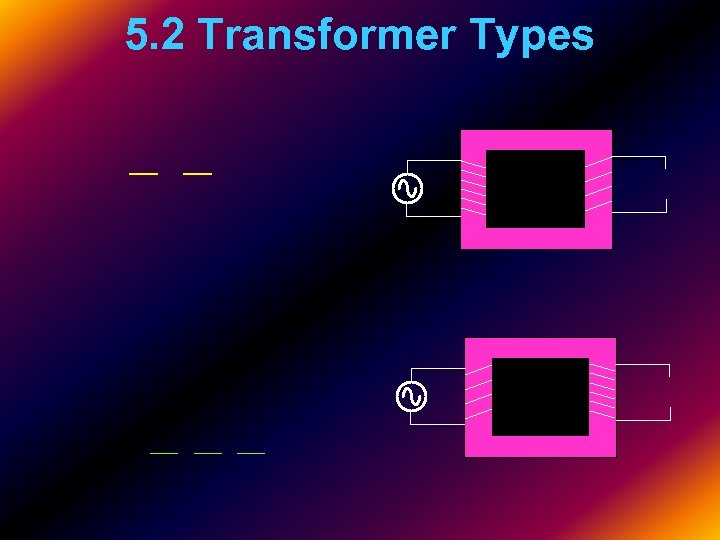 5. 2 Transformer Types