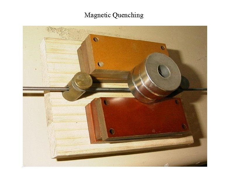 Magnetic Quenching