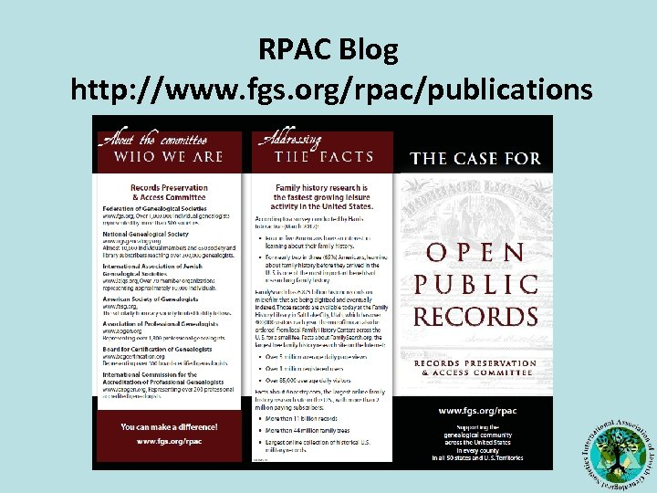 RPAC Blog http: //www. fgs. org/rpac/publications