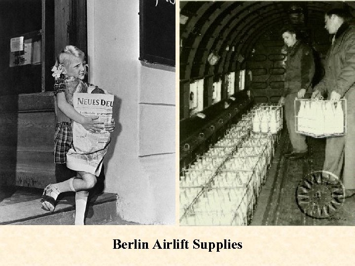 Berlin Airlift Supplies