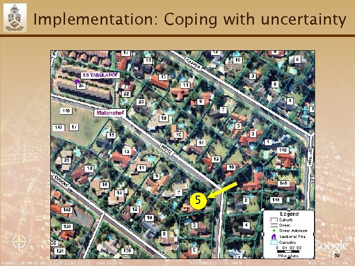 Implementation: Coping with uncertainty 5 59