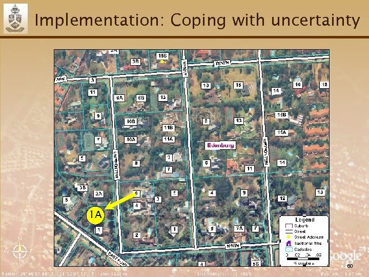 Implementation: Coping with uncertainty 1 A 60