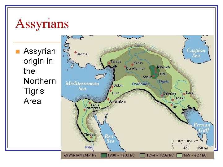 Assyrians n Assyrian origin in the Northern Tigris Area