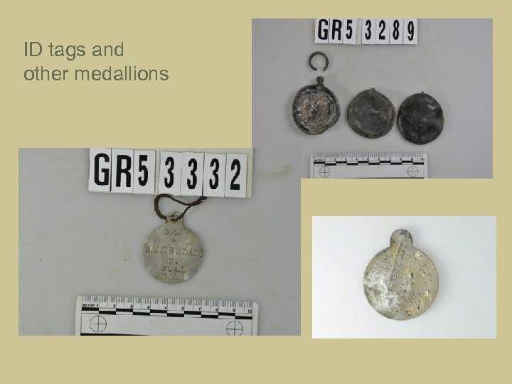 ID tags and other medallions
