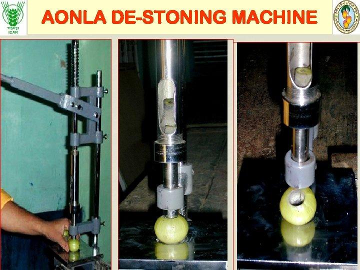 AONLA DE-STONING MACHINE