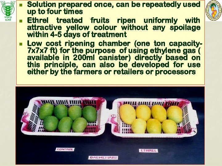n n n Solution prepared once, can be repeatedly used up to four times