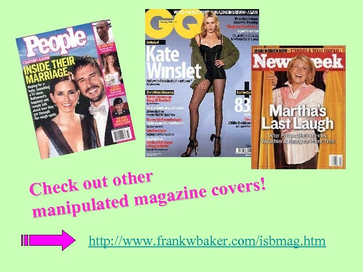 ut other Check o e covers! magazin pulated mani http: //www. frankwbaker. com/isbmag. htm