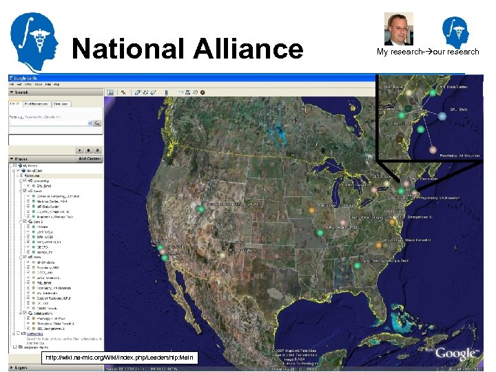 National Alliance for Medical Image Computing http: //na-mic. org http: //wiki. na-mic. org/Wiki/index. php/Leadership: