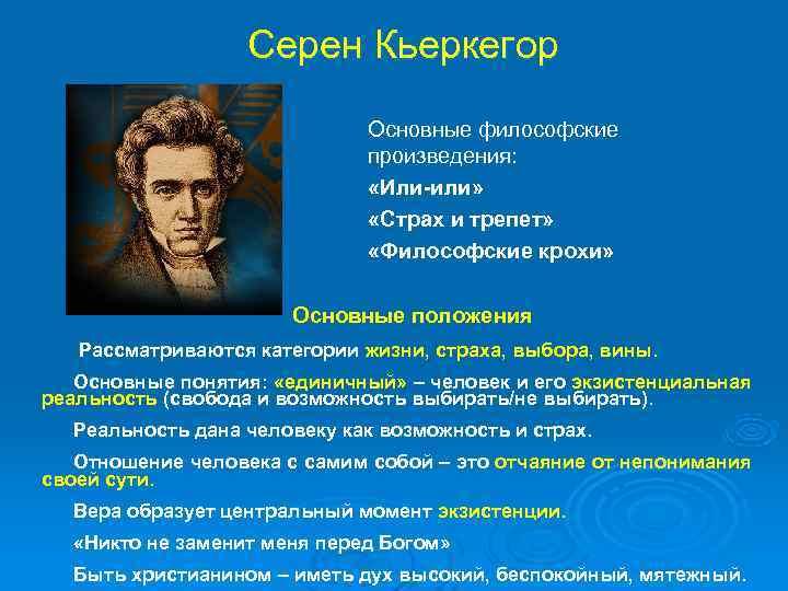 Кьеркегор Серен: биография и философия :: SYLru