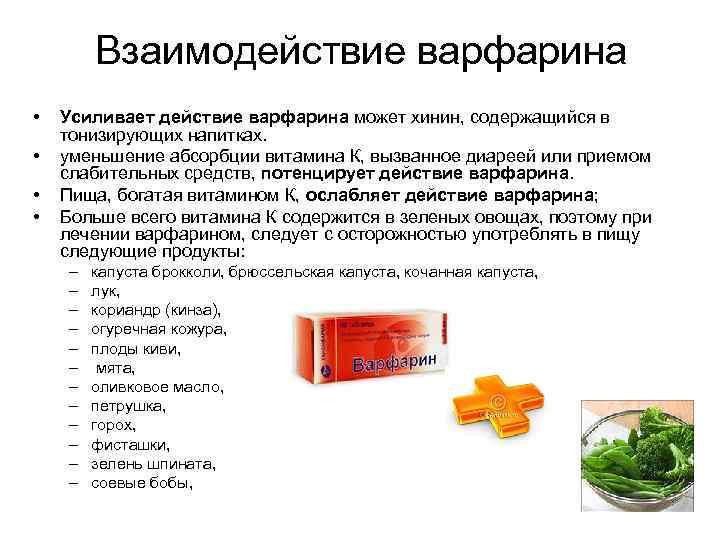 варфариновая диета