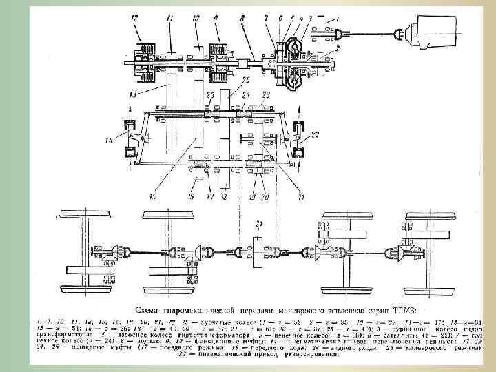 Схема тепловоза тгм 4 фото 447