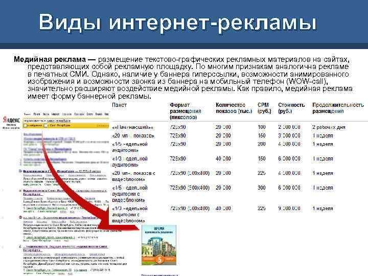 Реклама в интернете pdf контекстная реклама суд