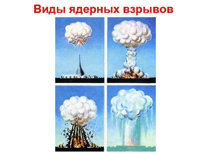 Картинки виды взрывов