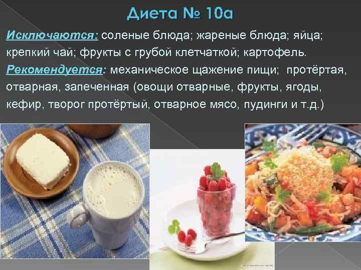 Пример диеты 10