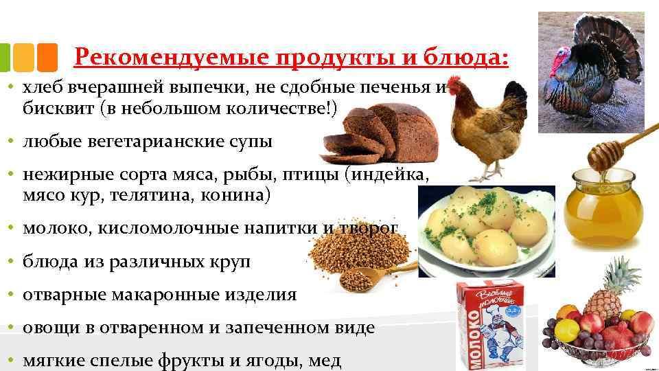диета при ибс меню