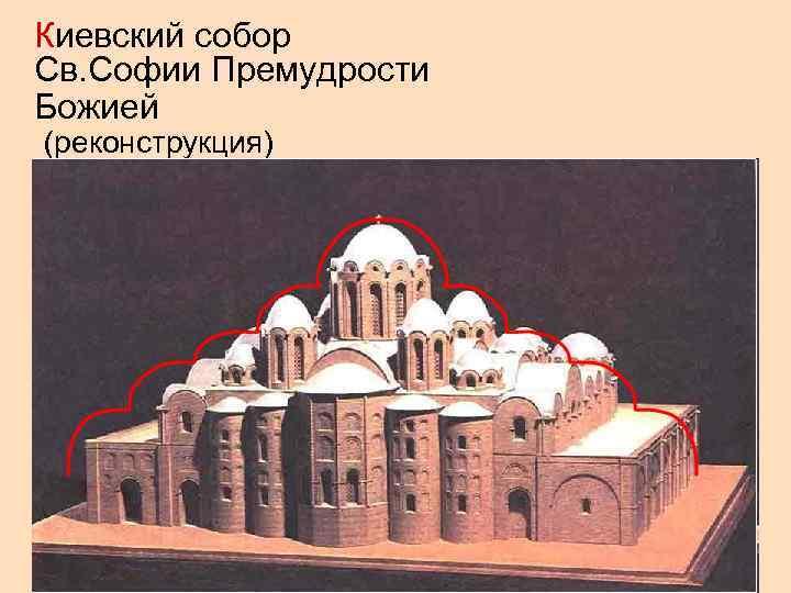 Киевский собор Св. Софии Премудрости Божией (реконструкция)