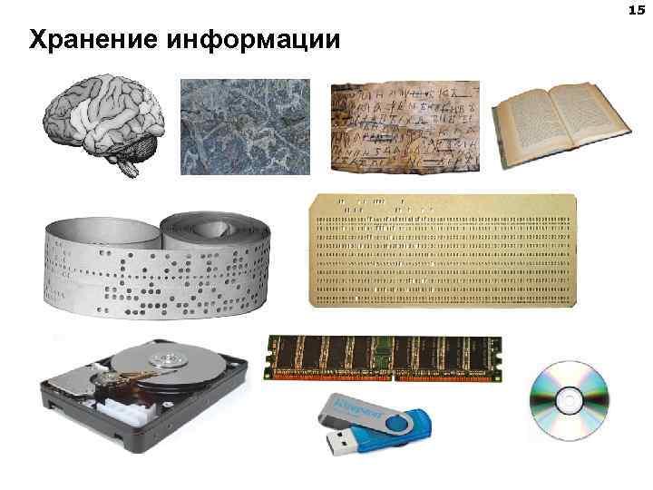 15 Хранение информации