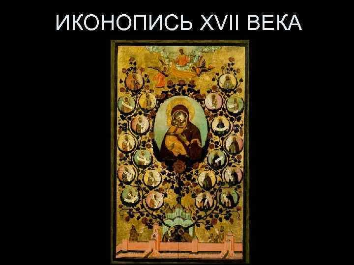 ИКОНОПИСЬ XVII ВЕКА