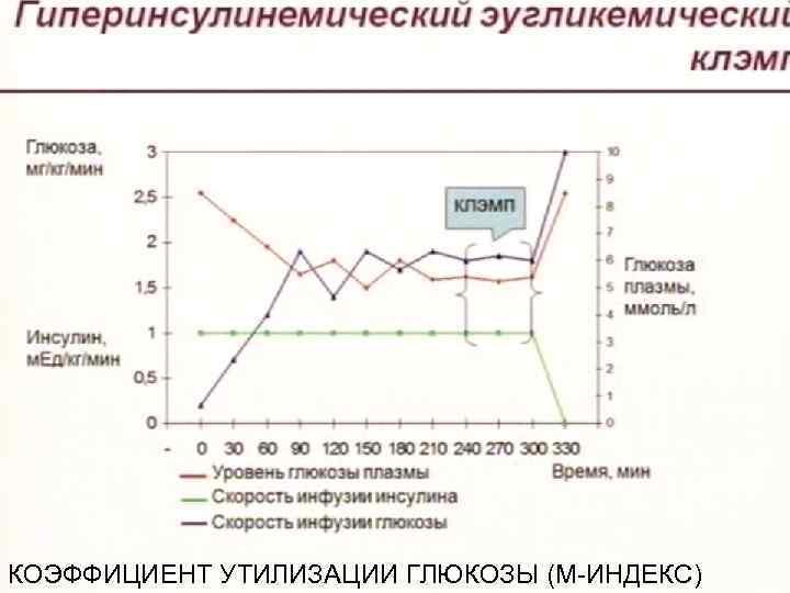 КОЭФФИЦИЕНТ УТИЛИЗАЦИИ ГЛЮКОЗЫ (М-ИНДЕКС)