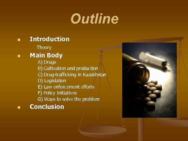 Outline n  Introduction  Theory n  Main