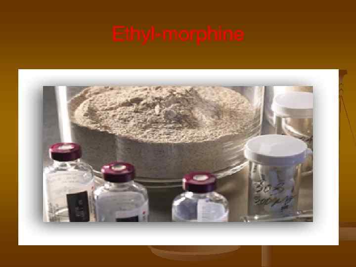 Ethyl-morphine