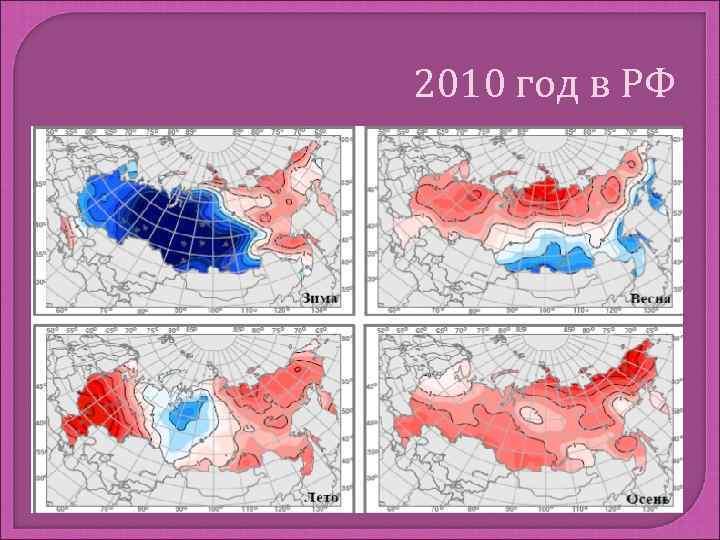 2010 год в РФ