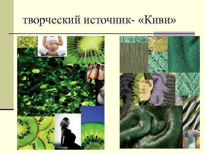 творческий источник- «Киви»