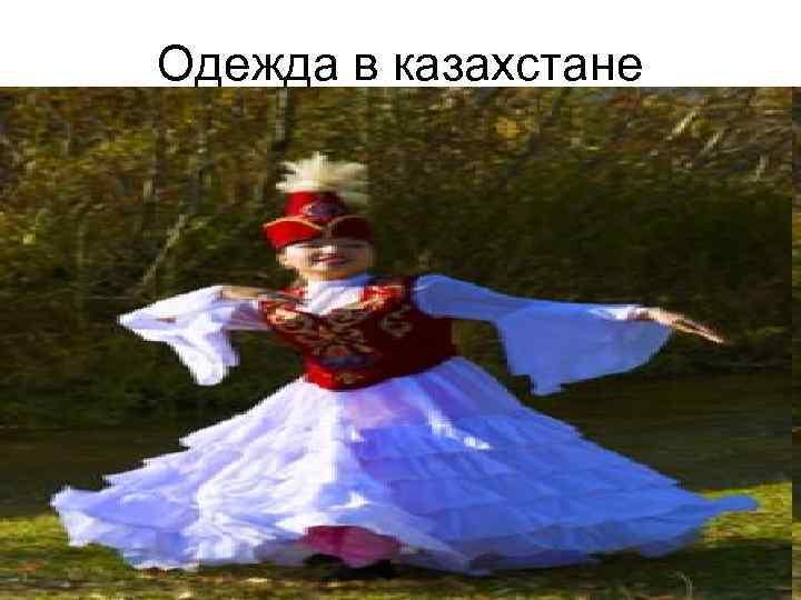 Одежда в казахстане