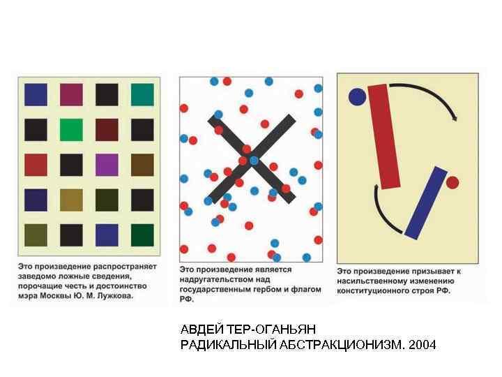 АВДЕЙ ТЕР-ОГАНЬЯН РАДИКАЛЬНЫЙ АБСТРАКЦИОНИЗМ. 2004