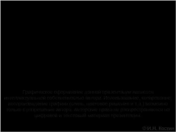 ОСОБЕННОСТИ РОДОВСПОМОЖЕНИЯ В РОССИЙСКОЙ ФЕДЕРАЦИИ   Графическое оформление данной презентации является интеллектуальной собственностью