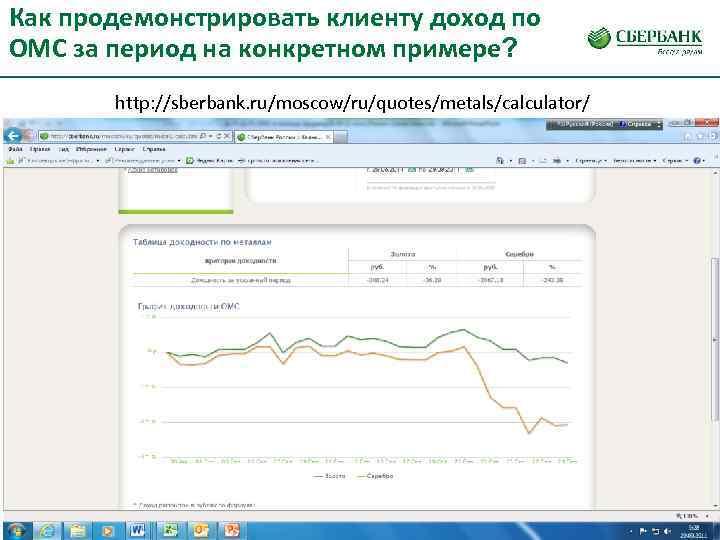 Как продемонстрировать клиенту доход по ОМС за период на конкретном примере?   http:
