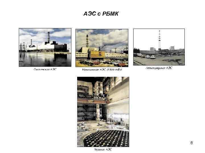 АЭС с РБМК   6