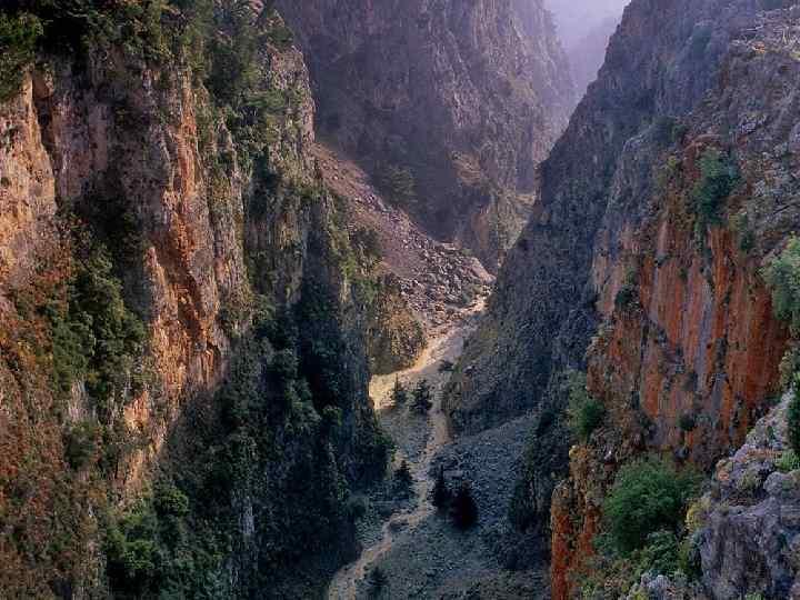 Эрозионная долина реки