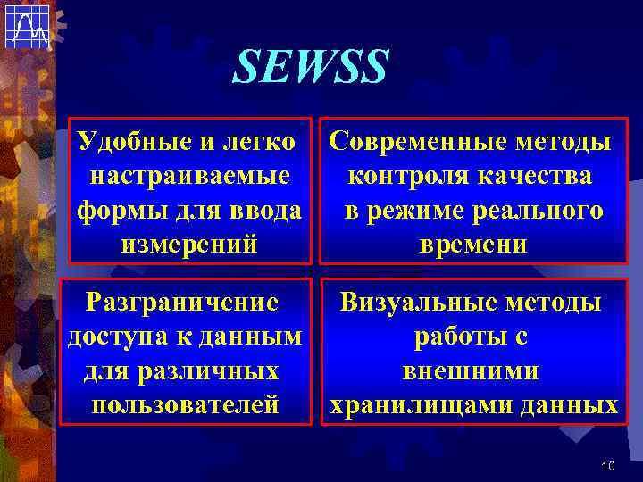 SEWSS Удобные и легко Современные методы настраиваемые  контроля качества формы