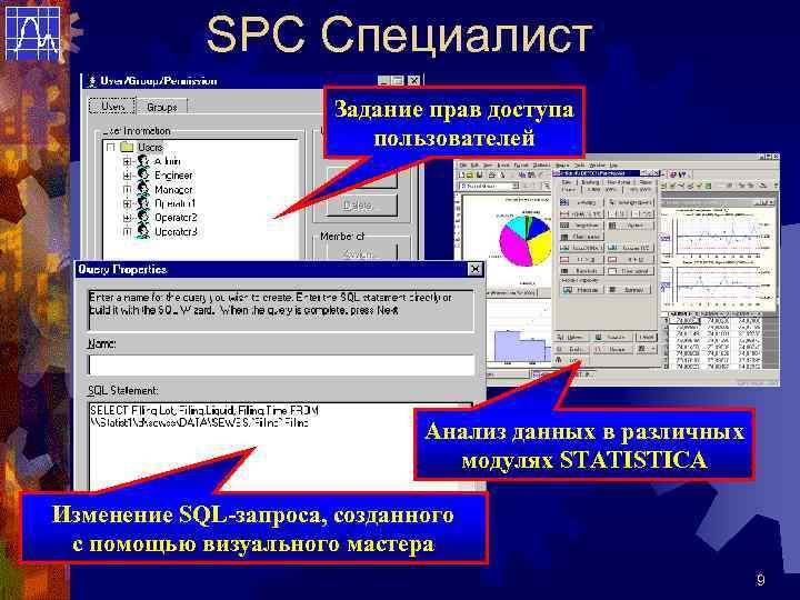 SPC Специалист    Задание прав доступа