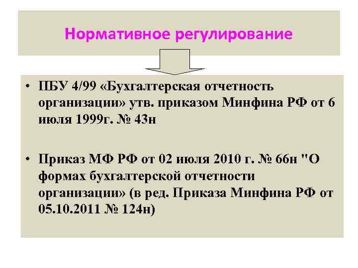 организации пбу бухгалтерская 4 шпаргалка отчетность 99