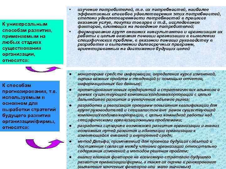 •  изучение потребителей, т. е. их потребностей, наиболее