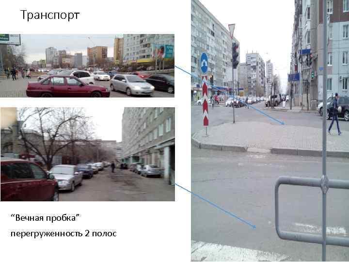 """Транспорт """"Вечная пробка"""" перегруженность 2 полос"""