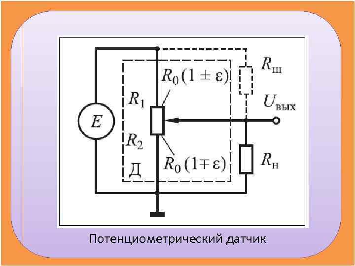 Потенциометрический датчик