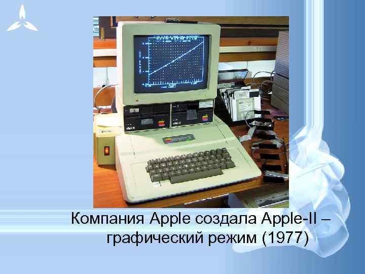 Компания Apple создала Apple-II –  графический режим (1977)