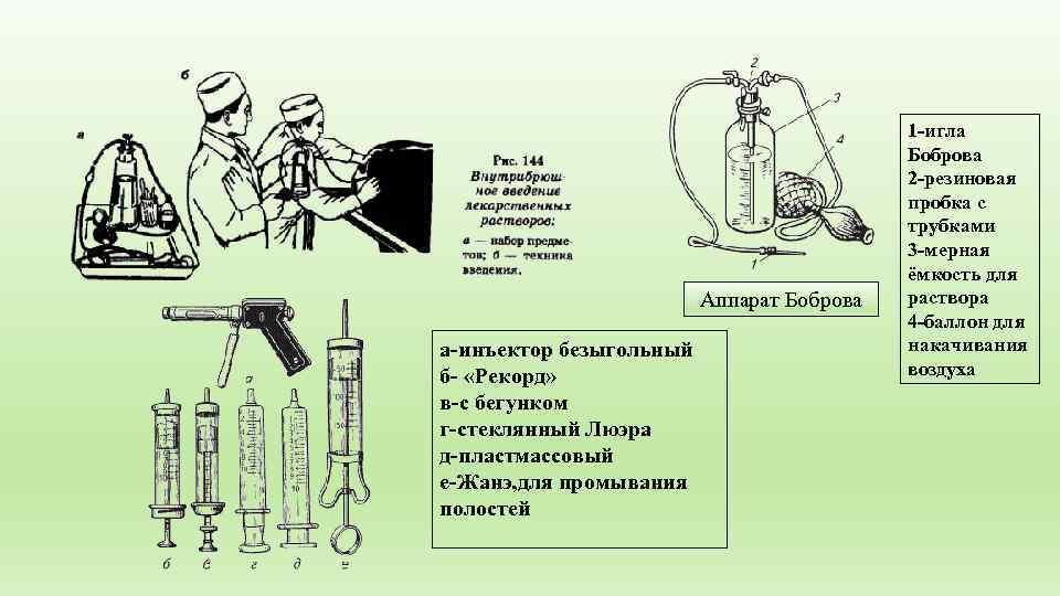 1 -игла    Боброва    2
